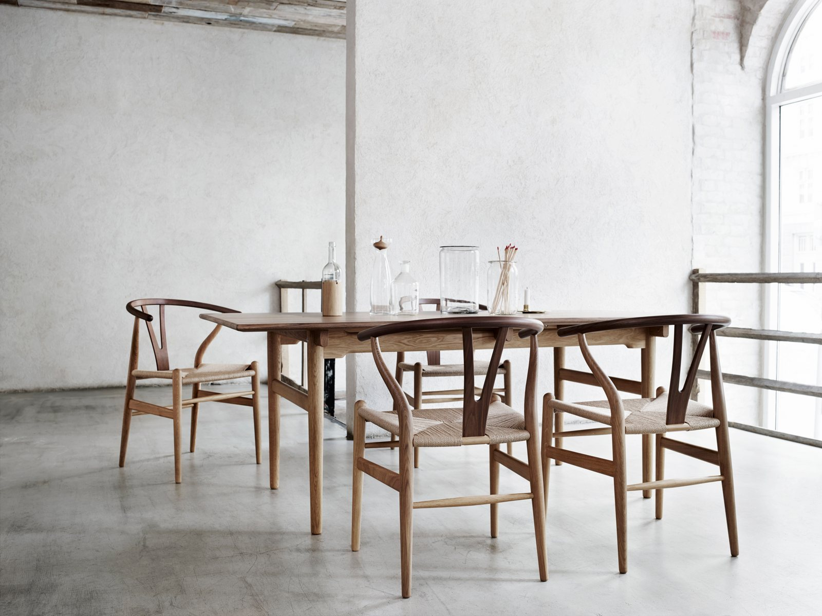 ch24 wishbone chair by hans j wegner for carl hansen søn up