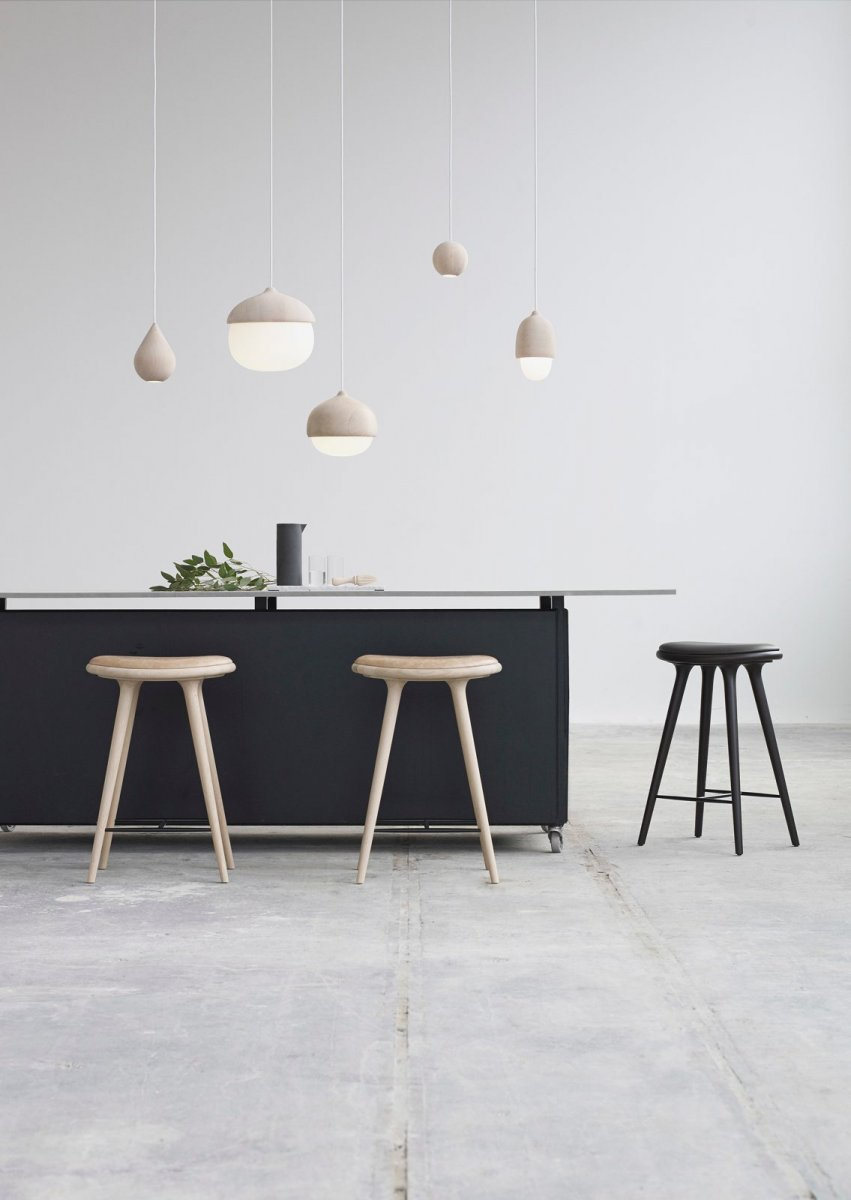 Liuku Base pendant lamps with Terho Lamps.