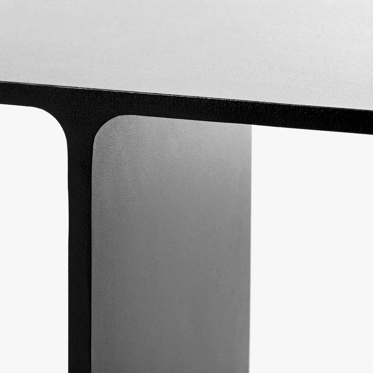 I Beam Side Table, detail.