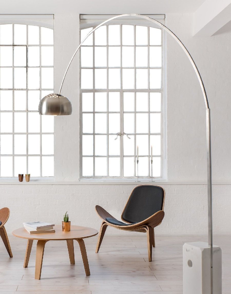 Arco Floor Lamp by Achille and Pier Giacomo Castiglioni for Flos ...