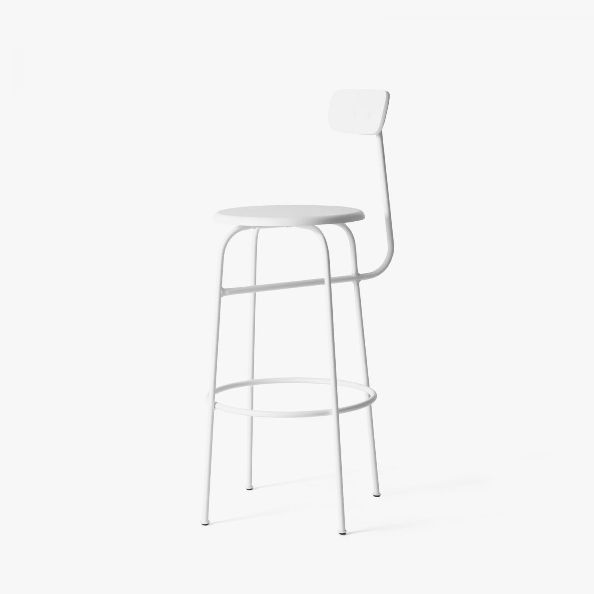 Afteroom Bar Chair, white.