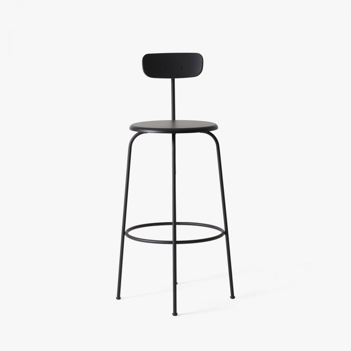 Afteroom Bar Chair, black.