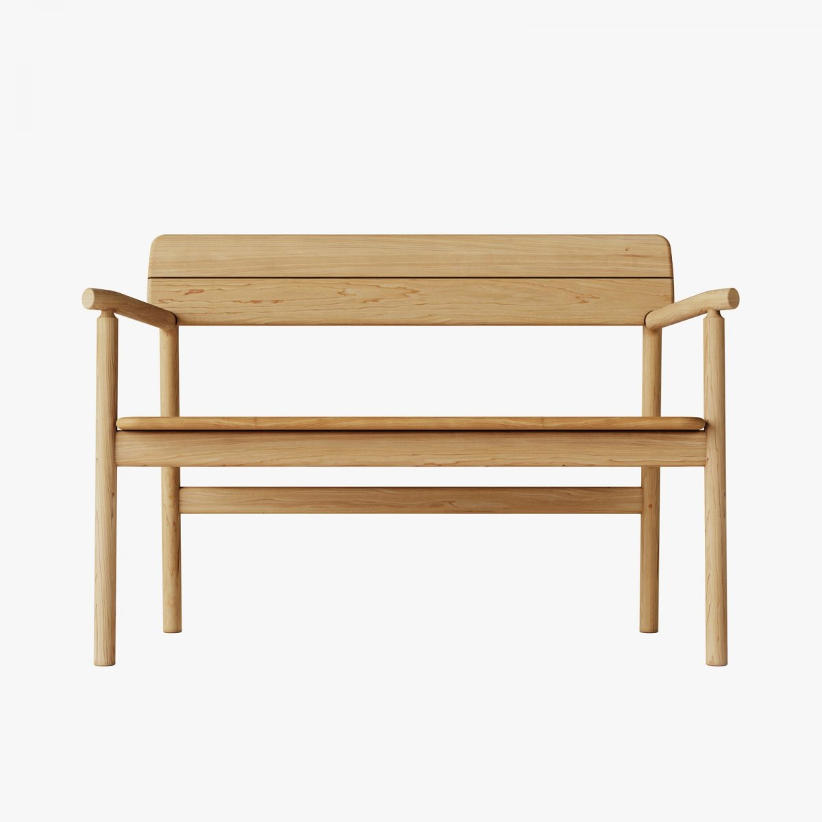 Tanso Bench, front view.