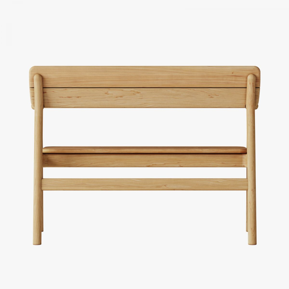 Tanso Bench, back view.