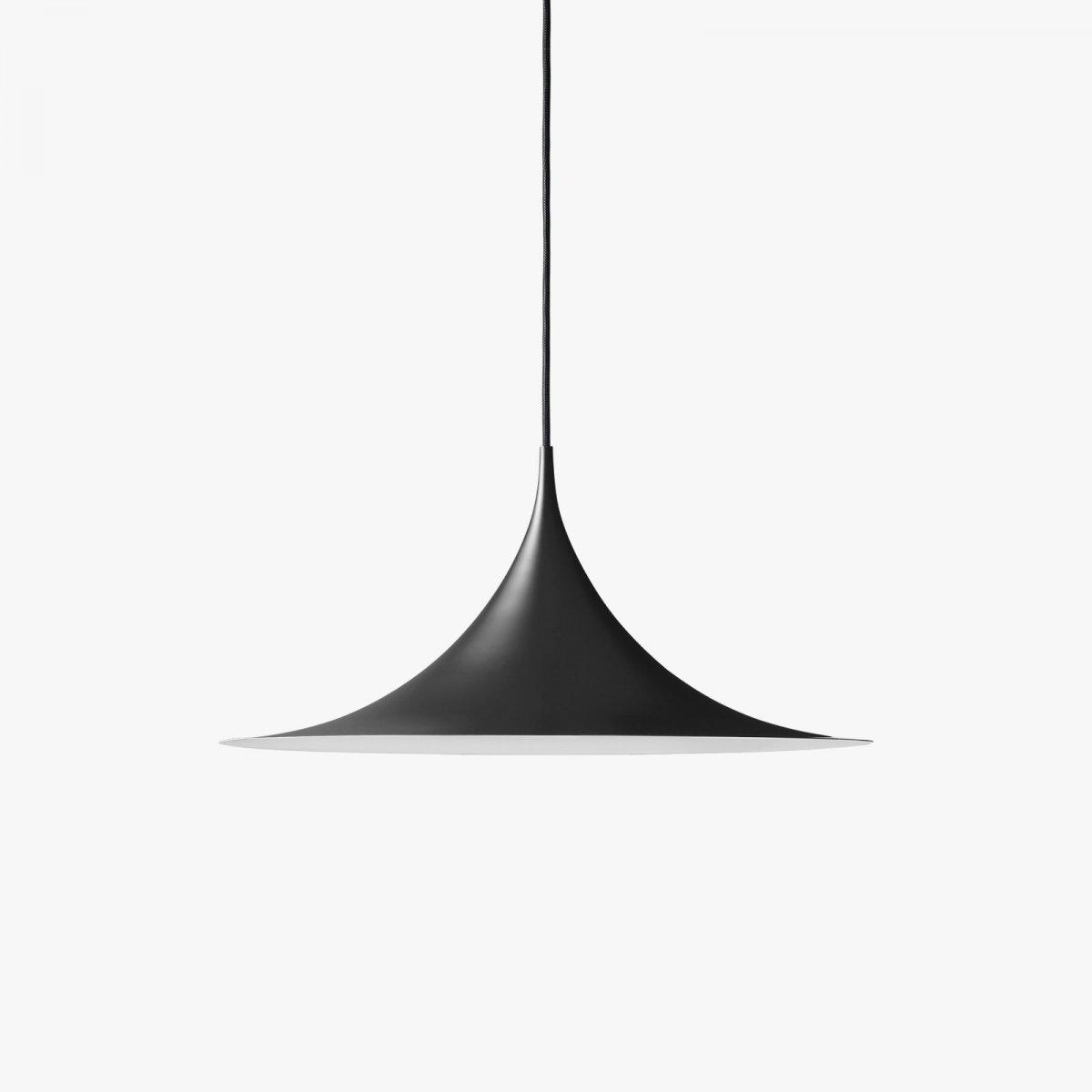 Semi Pendant, matt black.