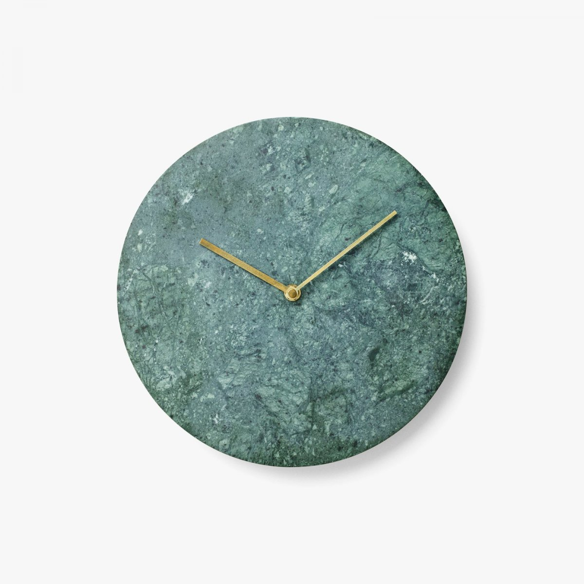 Marble Wall Clock, green.
