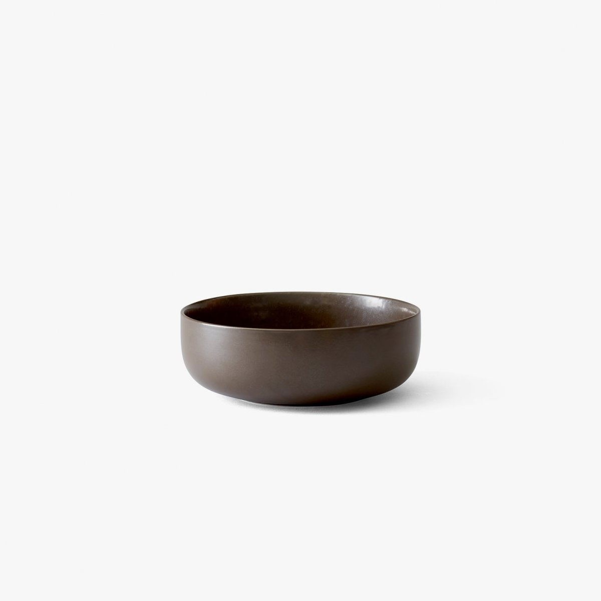 New Norm Bowl, Ø 17.5 cm, dark glazed.