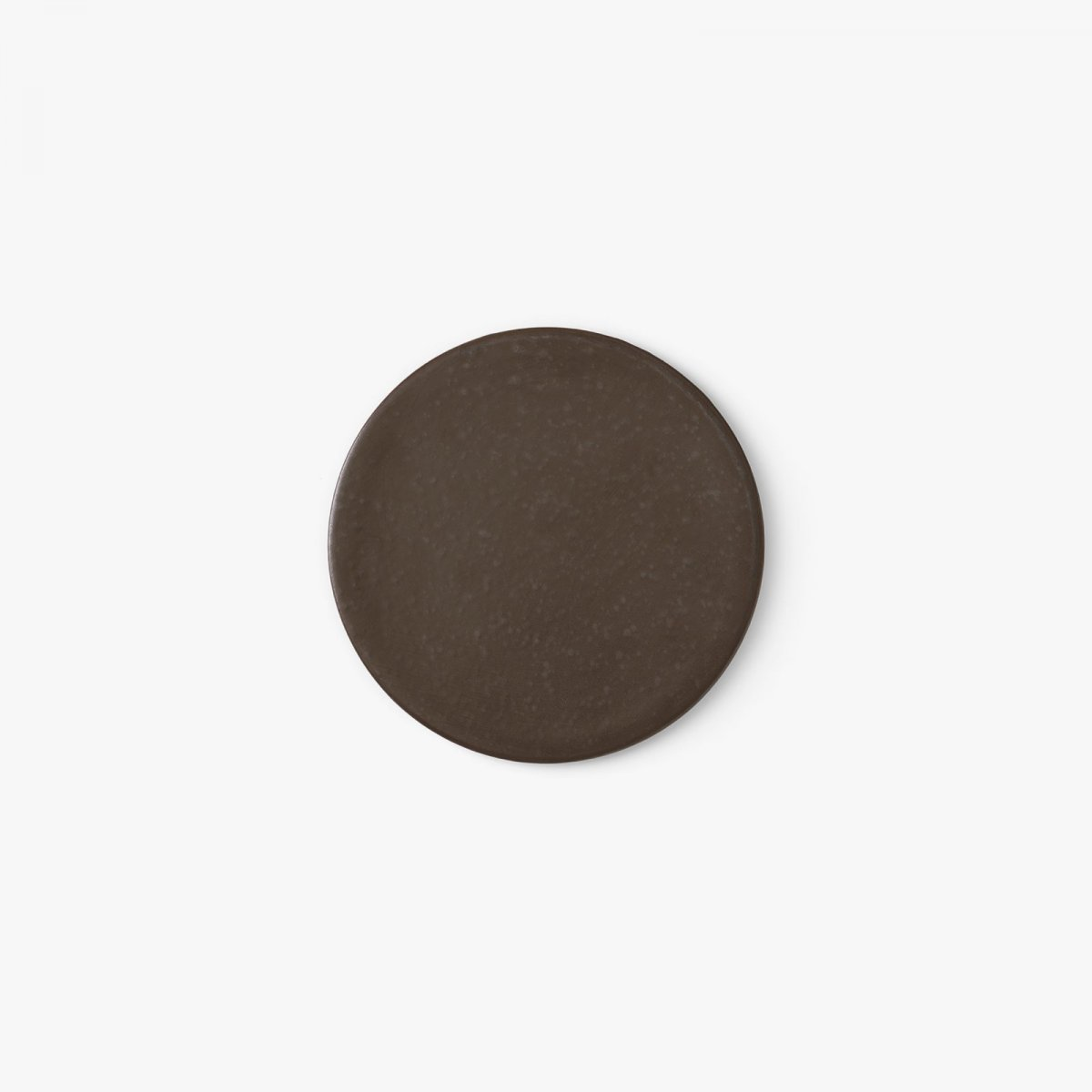 New Norm Plate/Lid, Ø 17.5 cm, dark glazed.