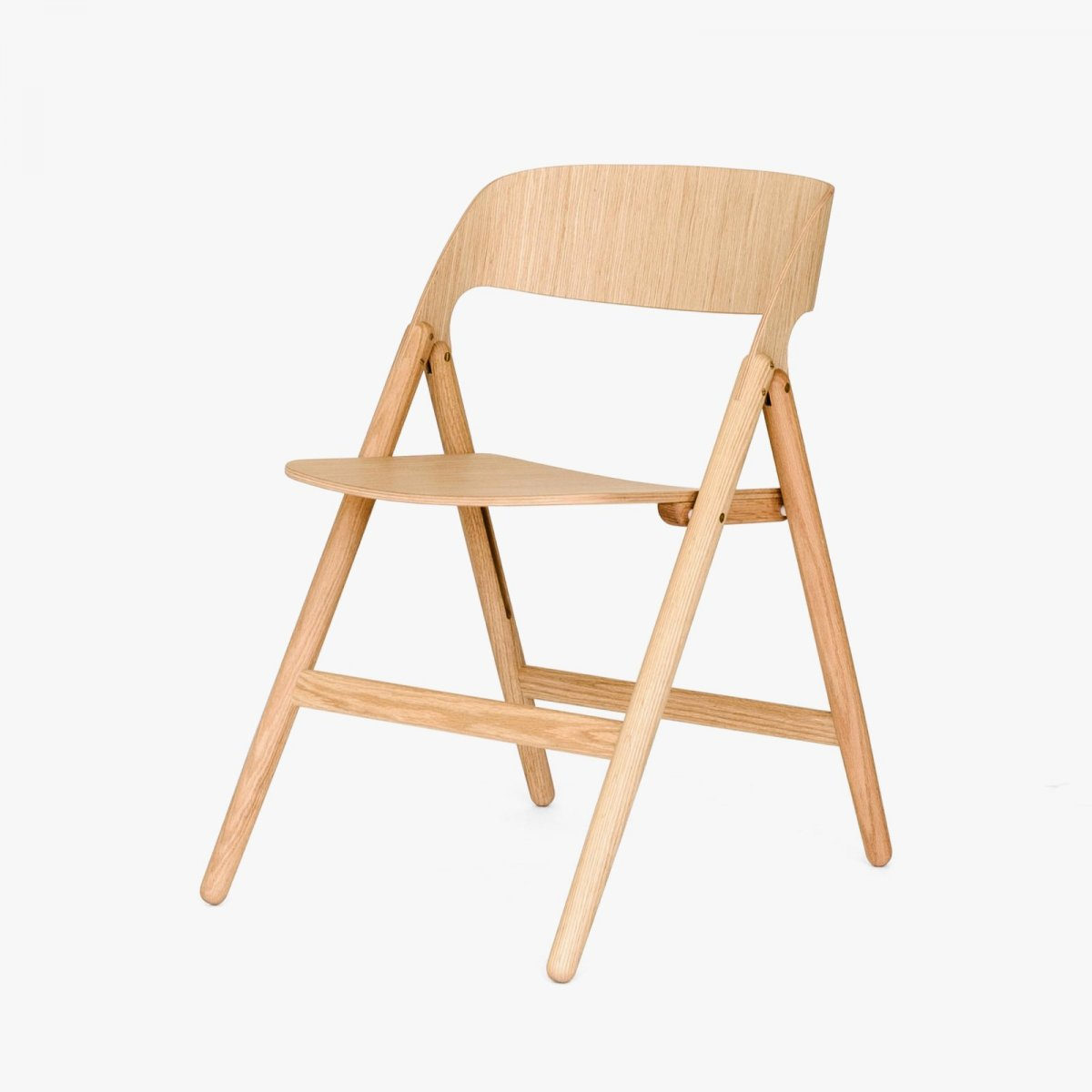 Narin Folding Chair, oak.
