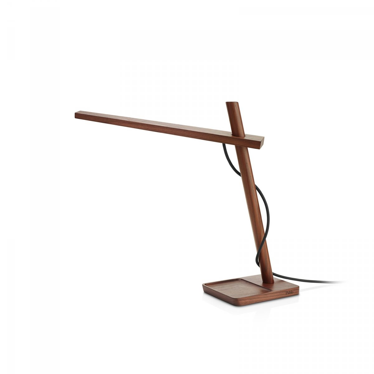 Clamp Mini Work Lamp, walnut.