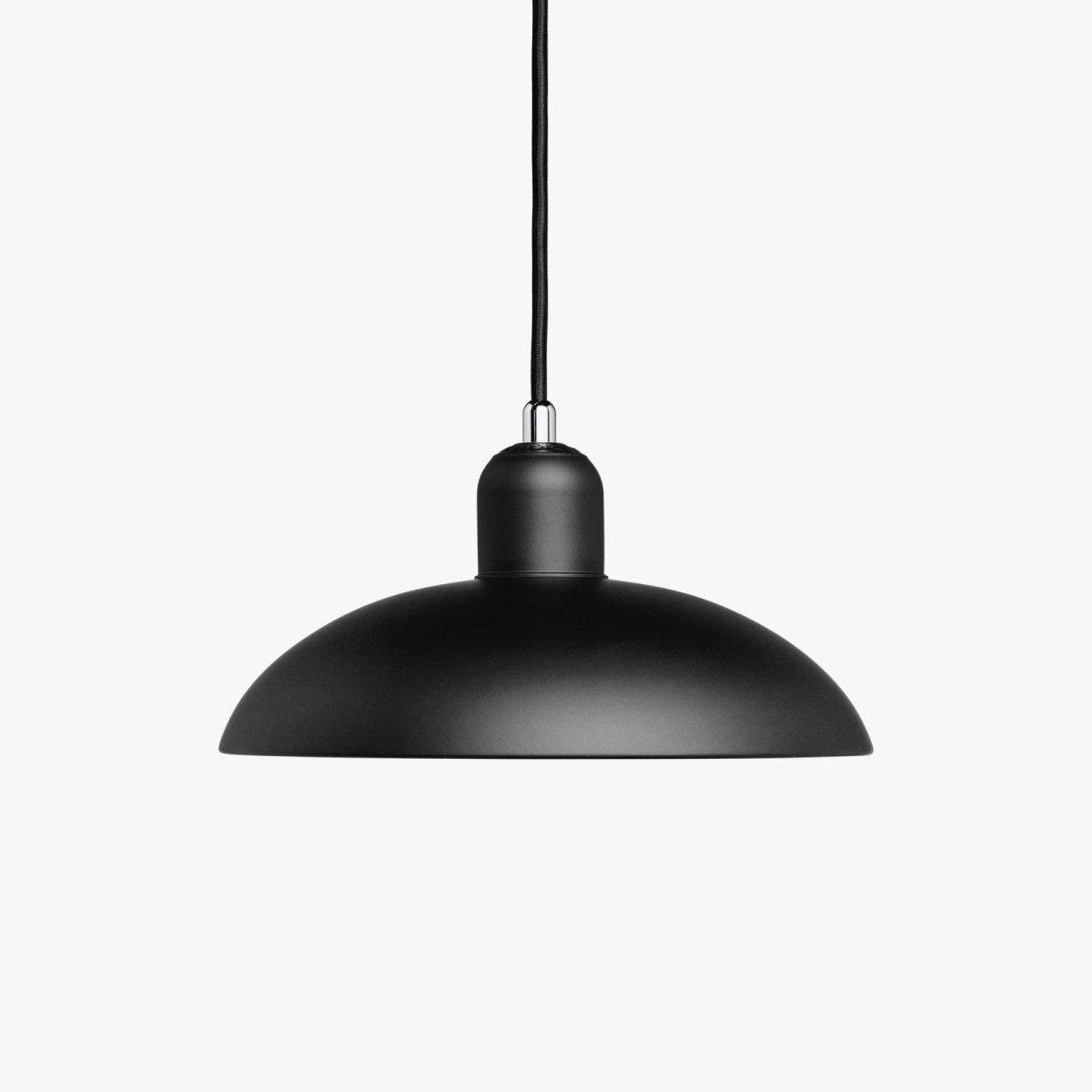 Kaiser Idell 6631-P, matt black.