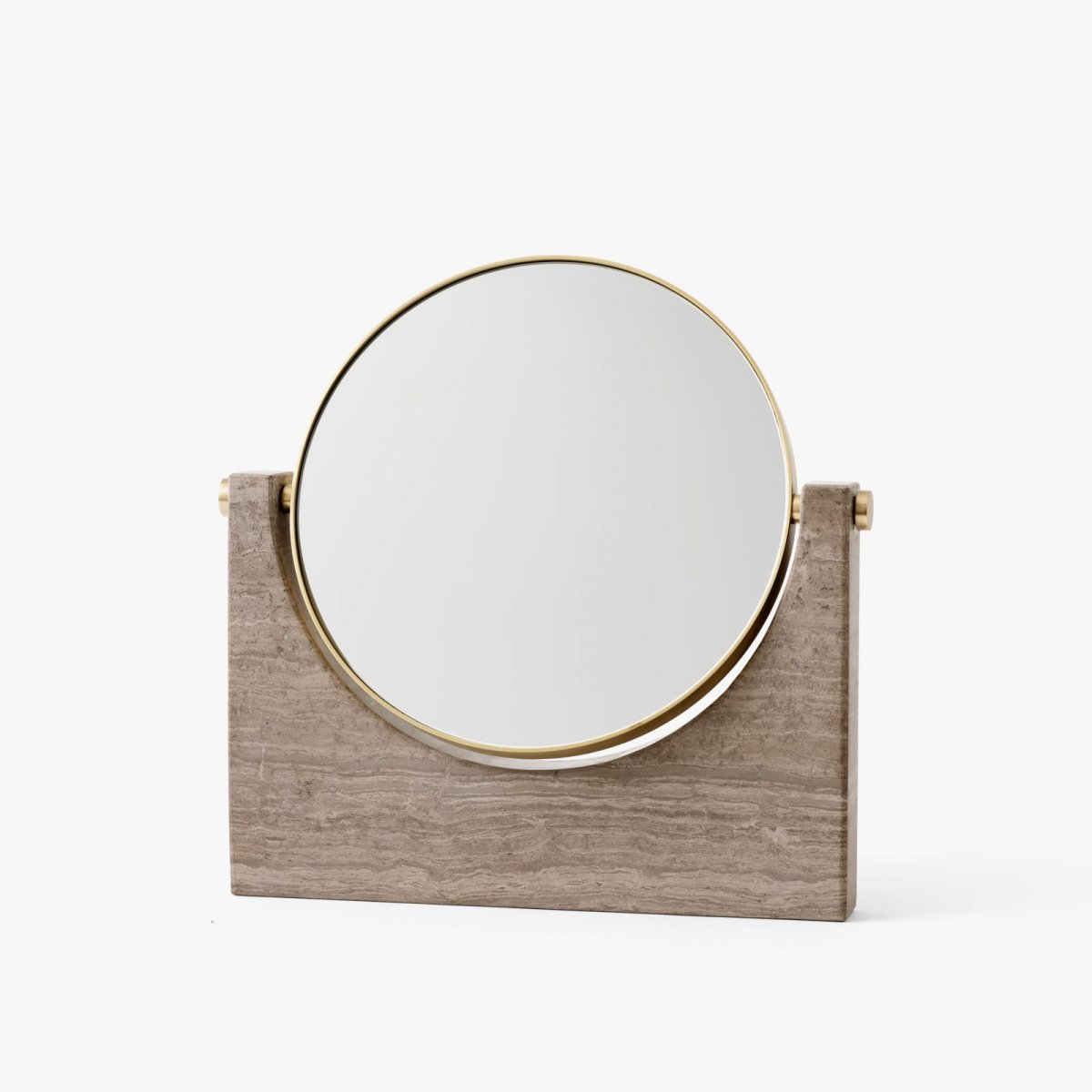 Pepe Marble Mirror, brown.