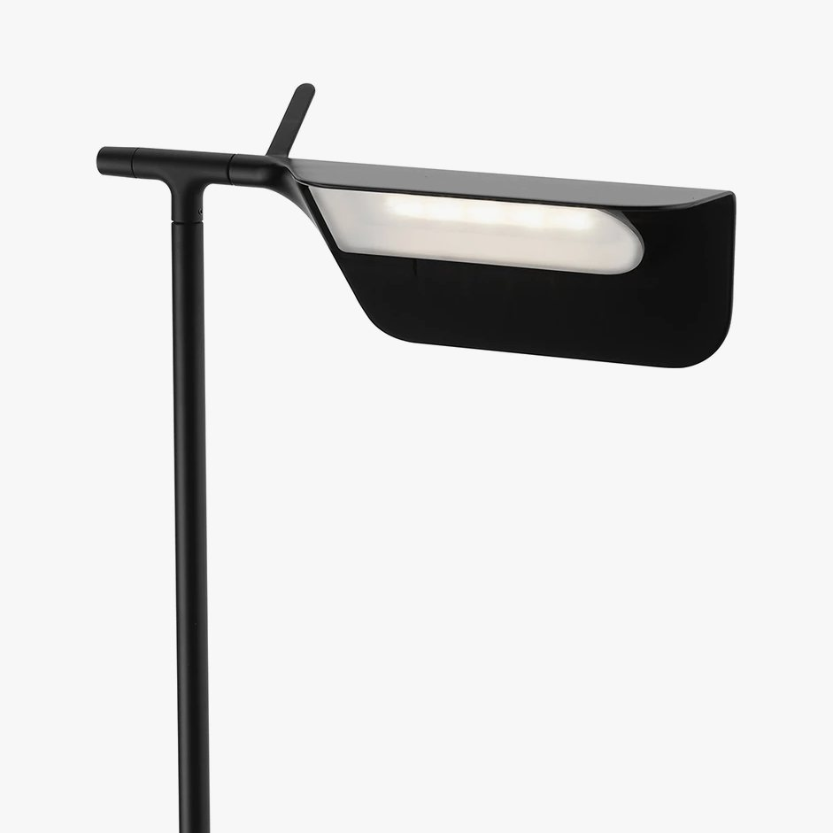 Tab Floor lamp, black, detail.