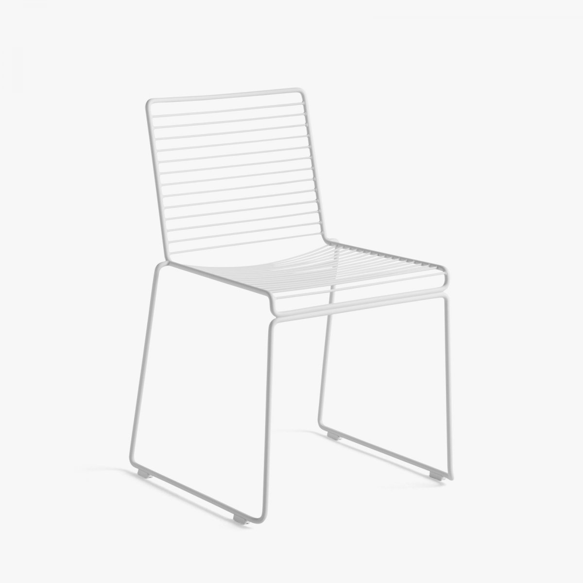 Hee Dining Chair, white.