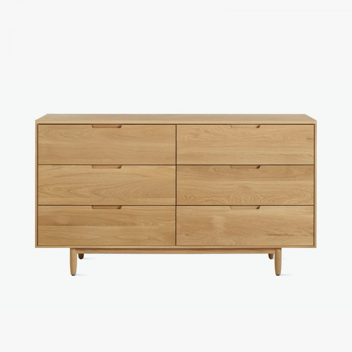 Raleigh Wide Dresser, oak.