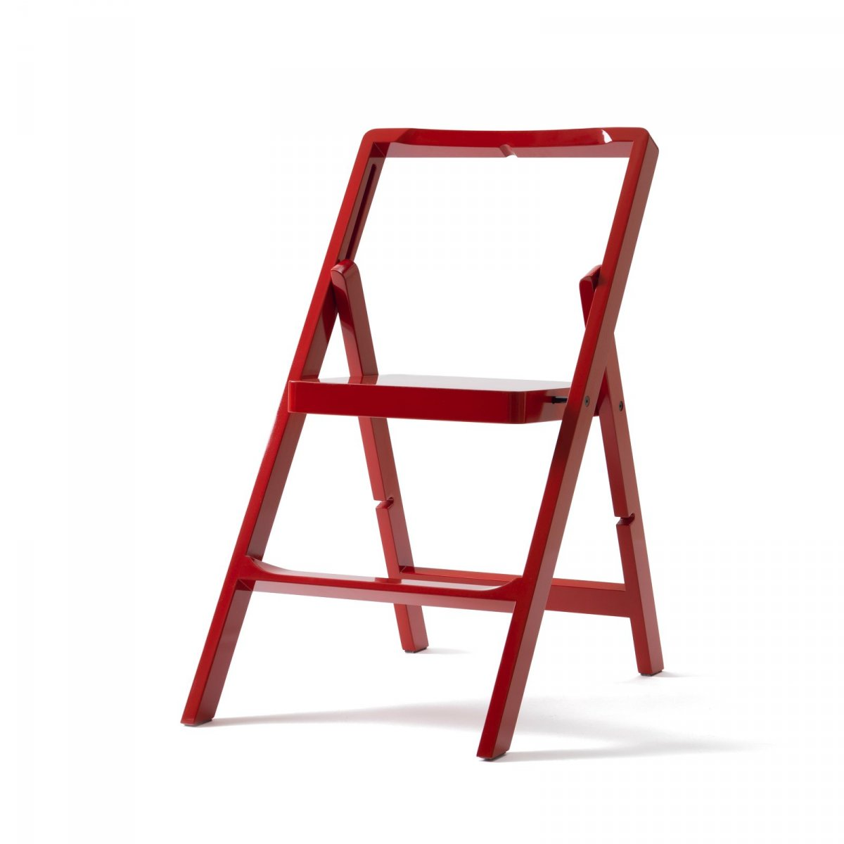 Step Mini step stool, red.