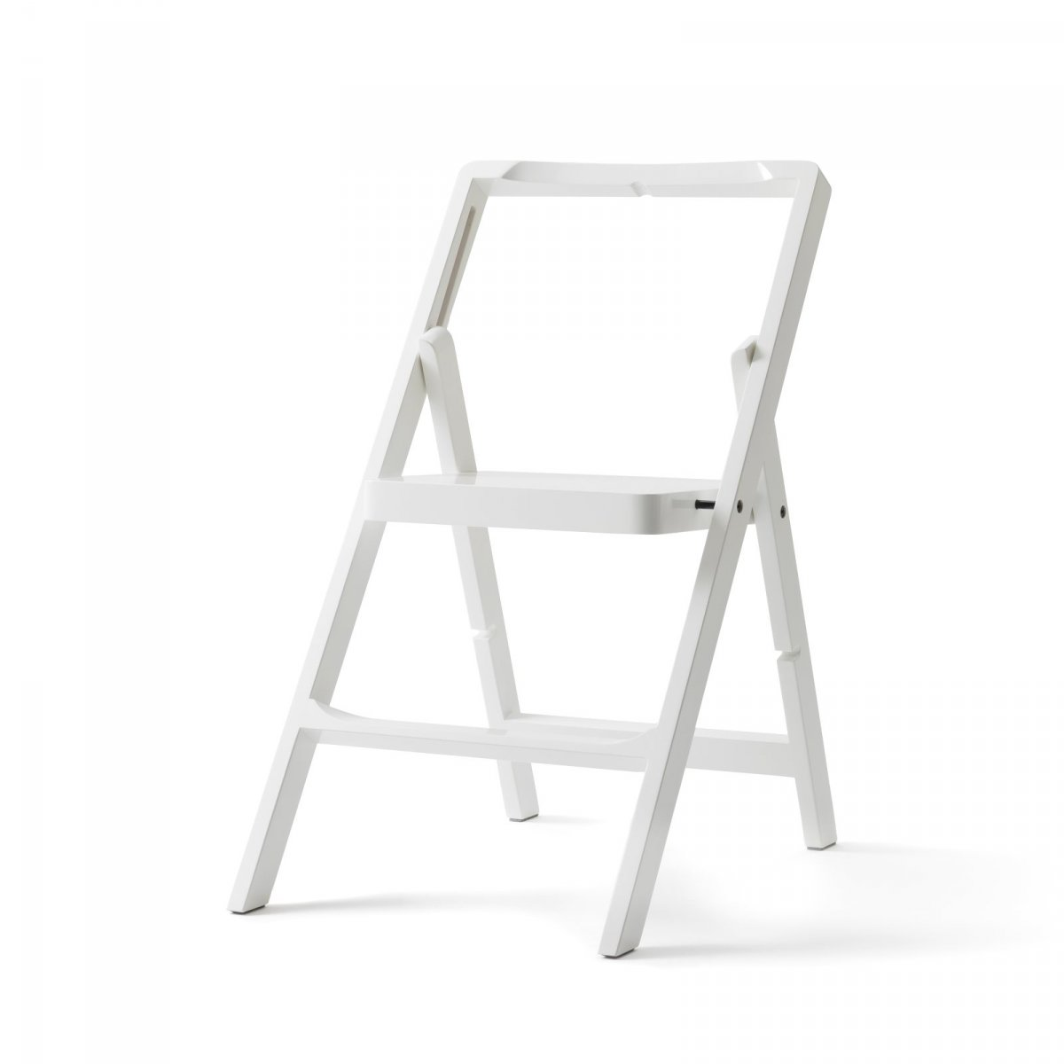 Step Mini step stool, white.