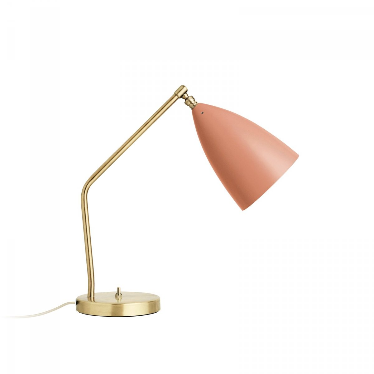 Grossman Gräshoppa Task Table Lamp, vintage red.