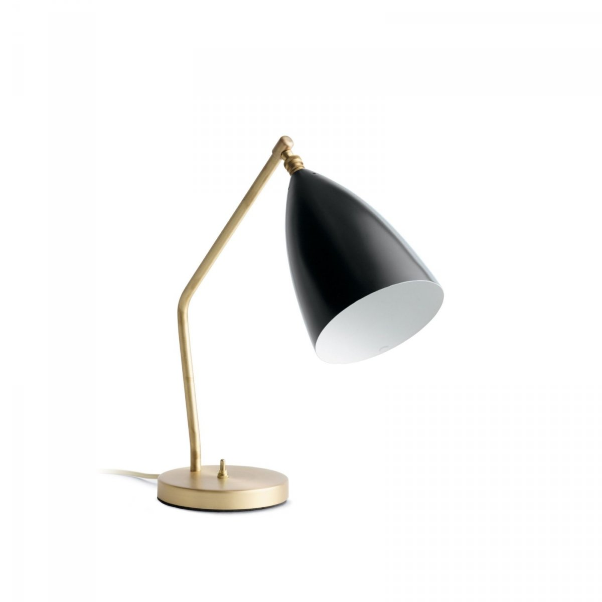 Grossman Gräshoppa Task Table Lamp, jet black.