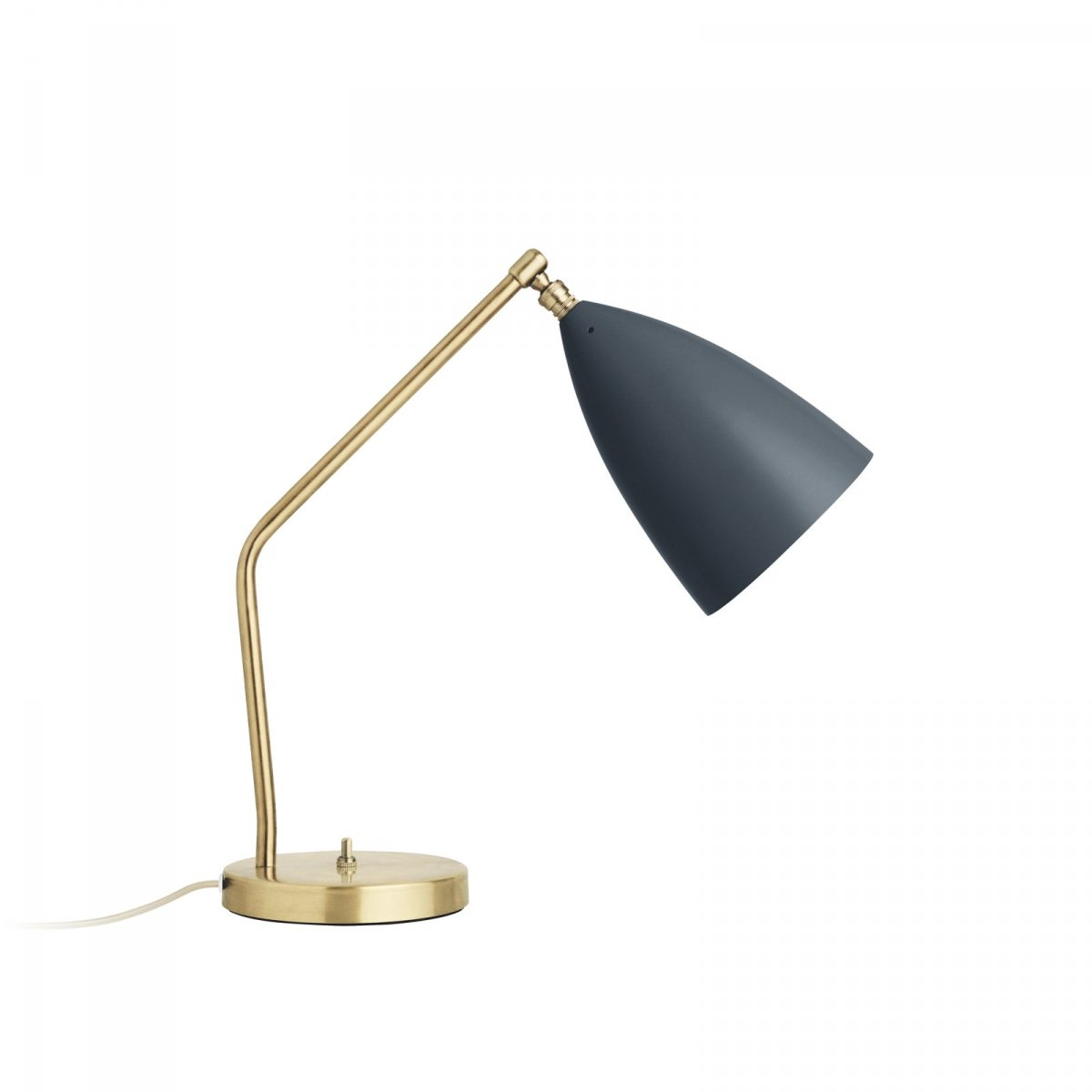 Grossman Gräshoppa Task Table Lamp, anthracite gray.