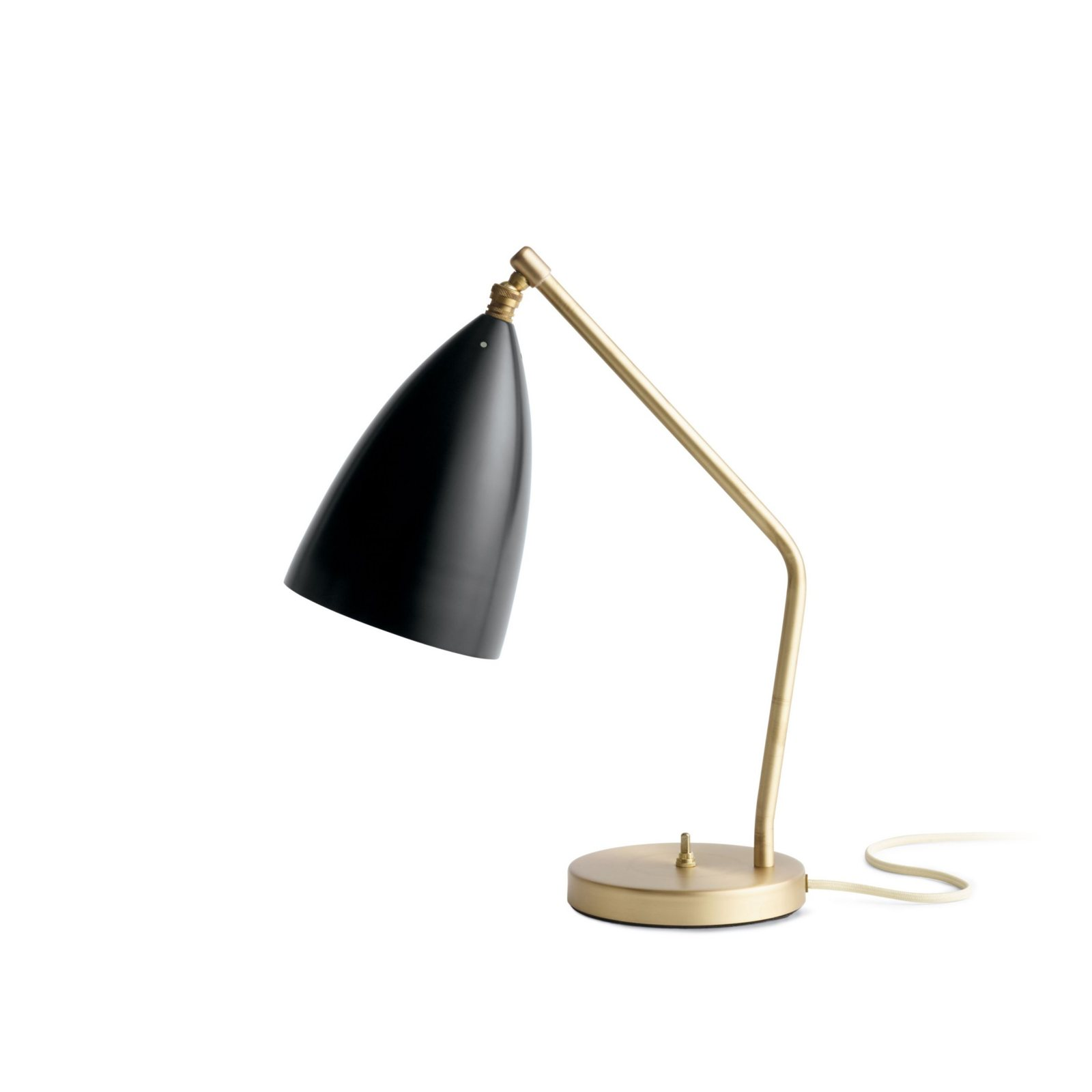 Grossman Gräpa Task Table Lamp Jet Black Side View