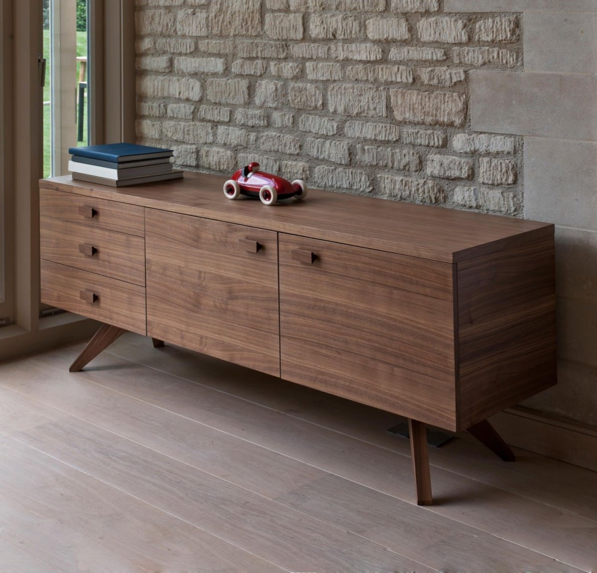 Cross Sideboard, walnut.