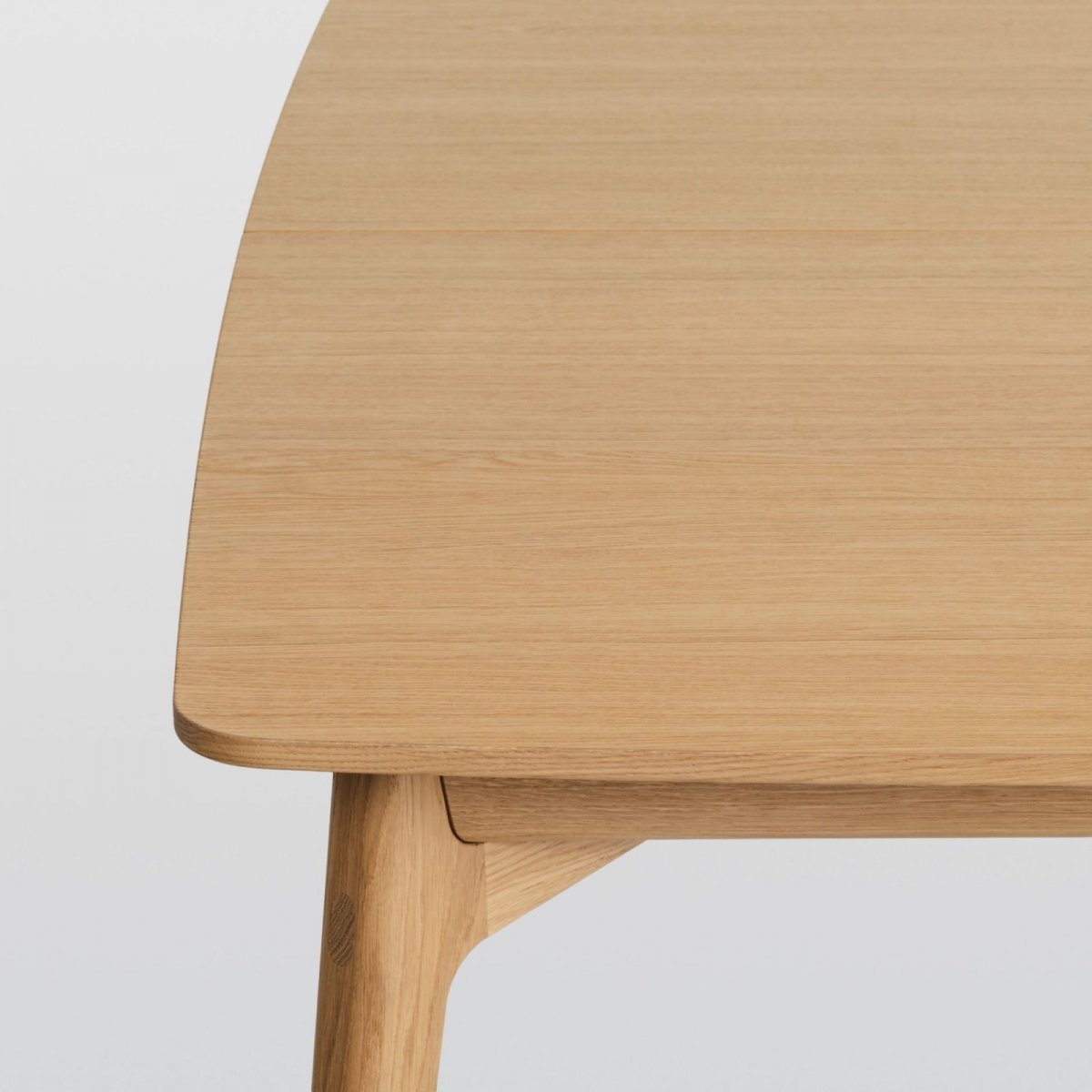 Dulwich Table, oak, detail.