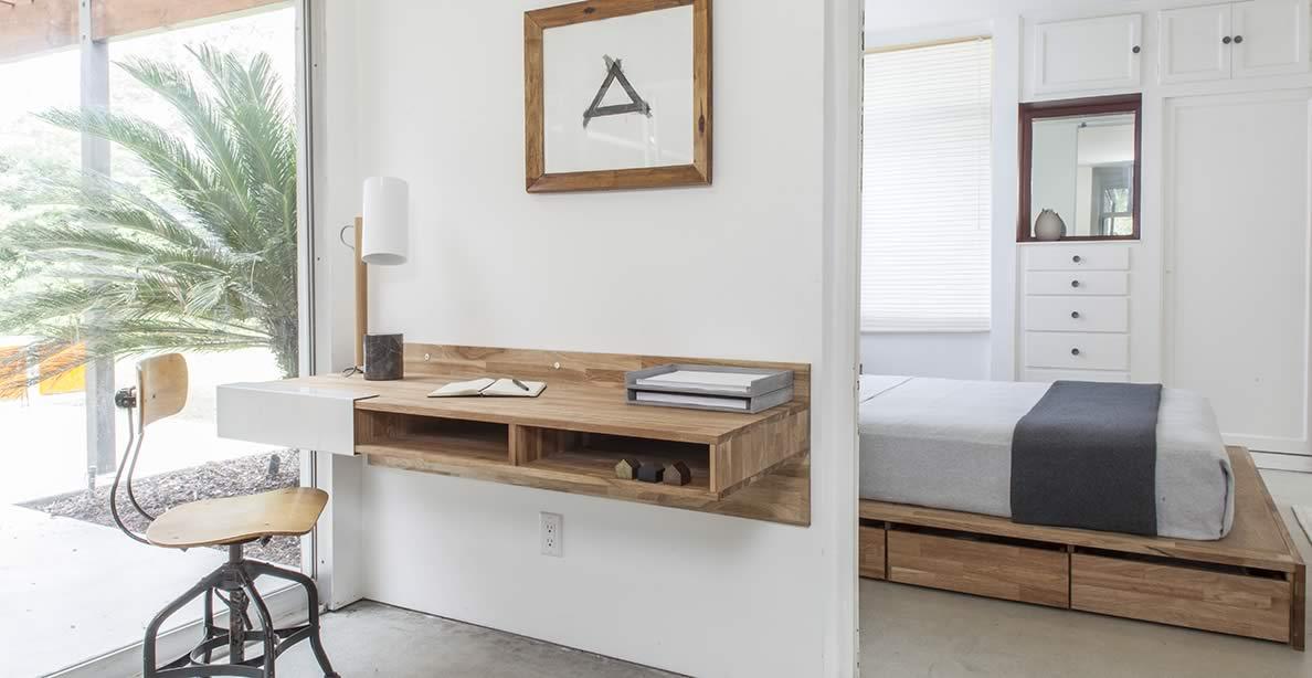 LAXseries Wall Mounted Desk.
