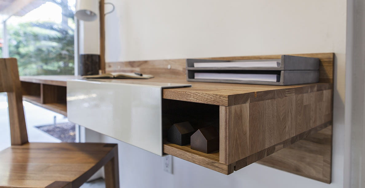 Laxseries Wall Mounted Desk By Mashstudios Up Interiors