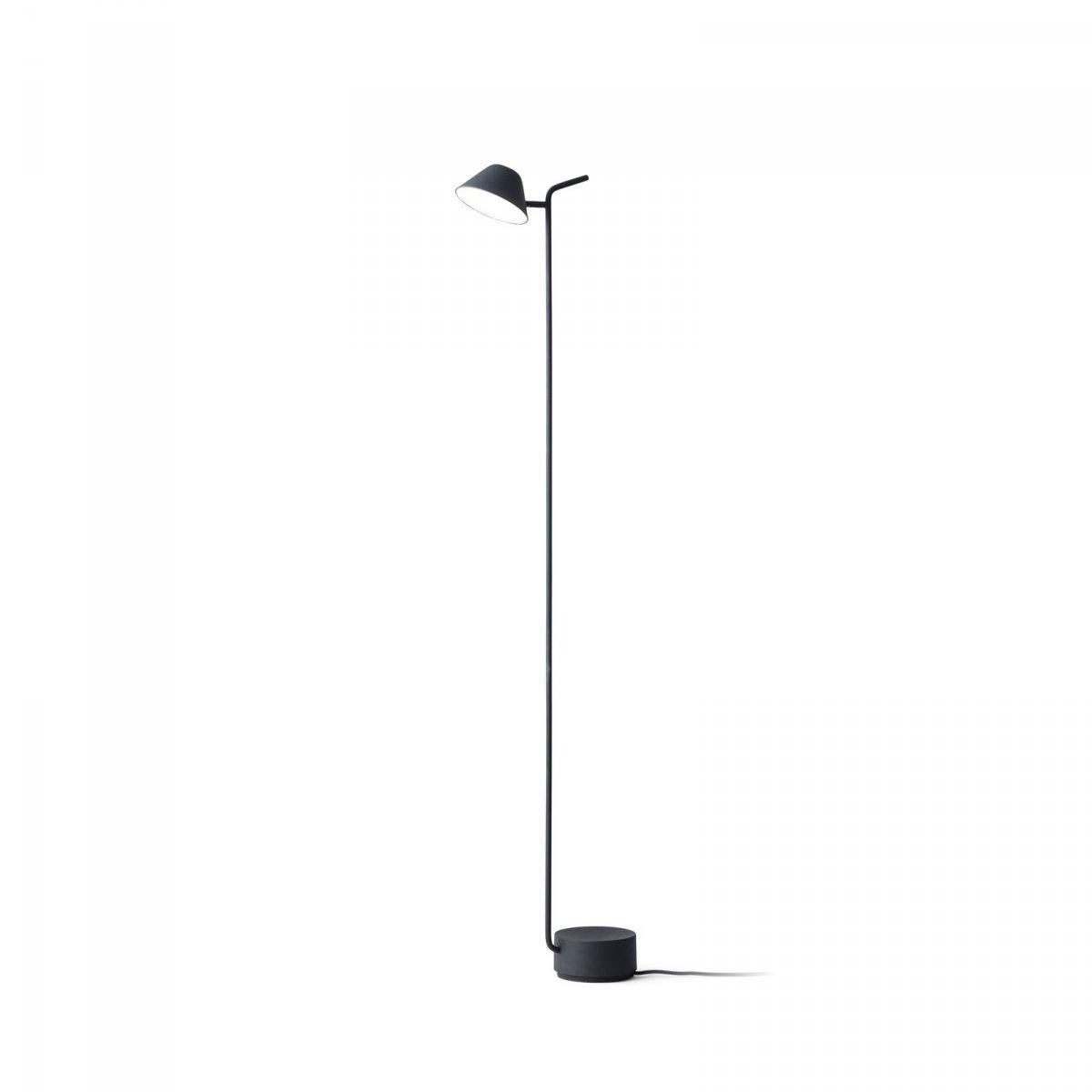 Peek Floor Lamp, black.
