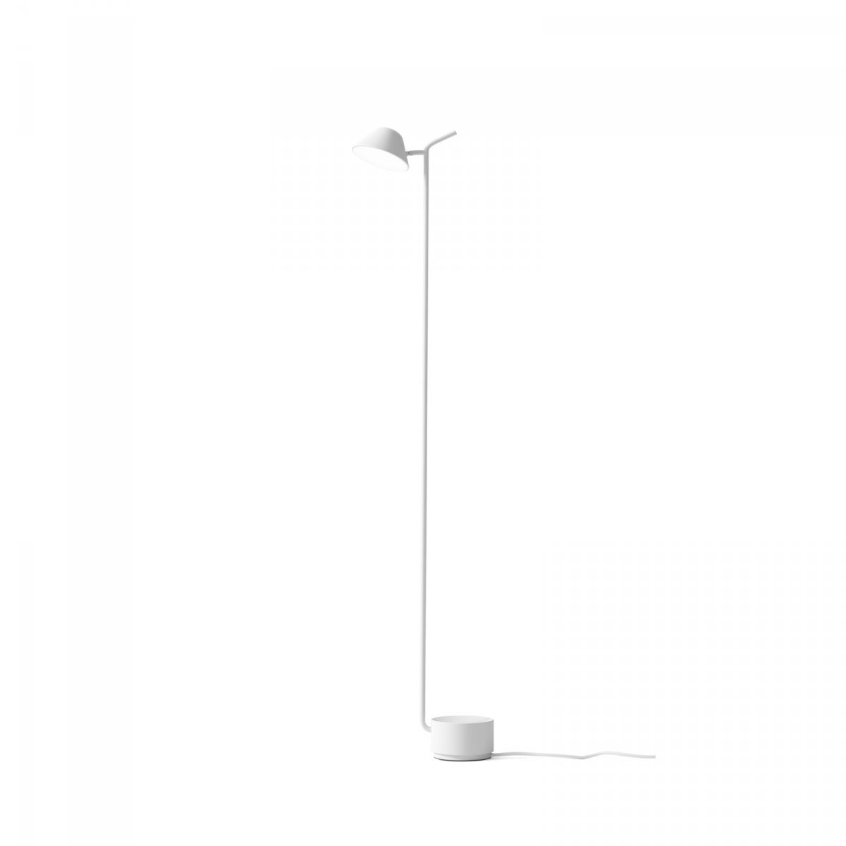 Peek Floor Lamp, white.