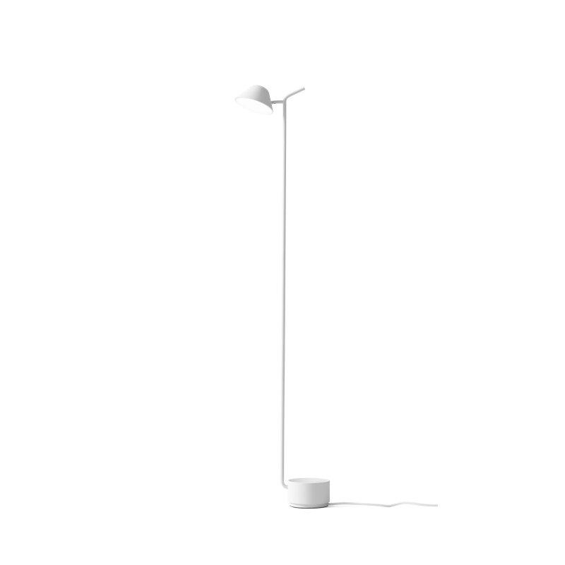 Peek Floor Lamp, white.