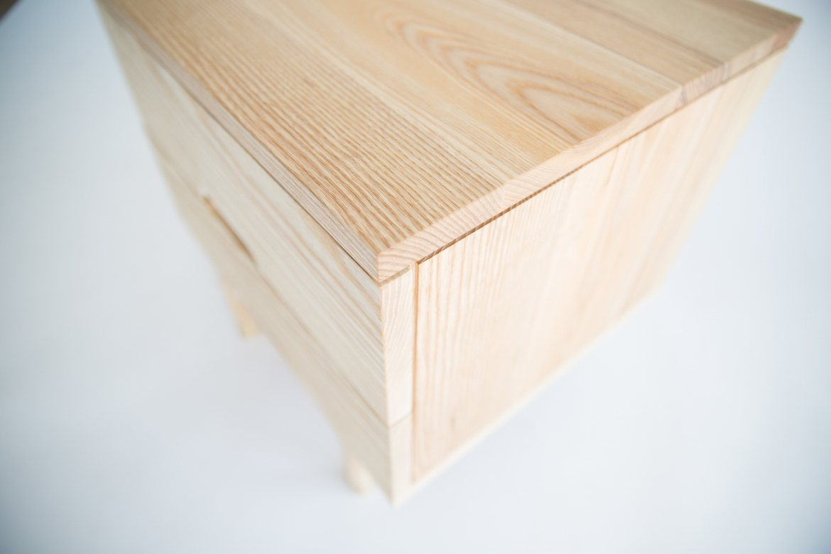 Simple Side Table, detail.