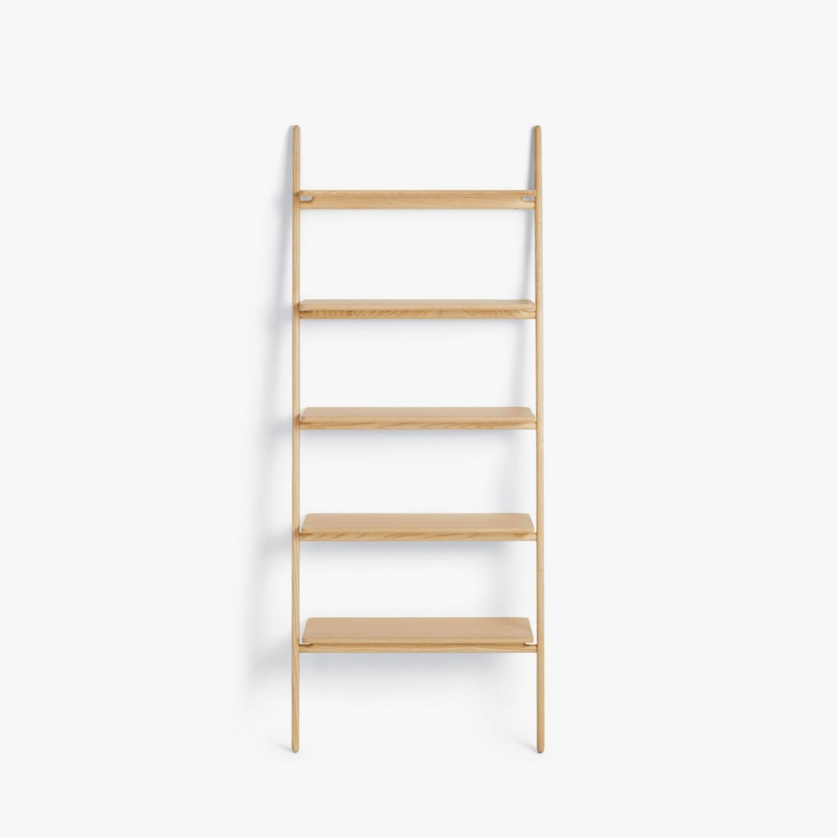 Folk Ladder Shelving, ash.