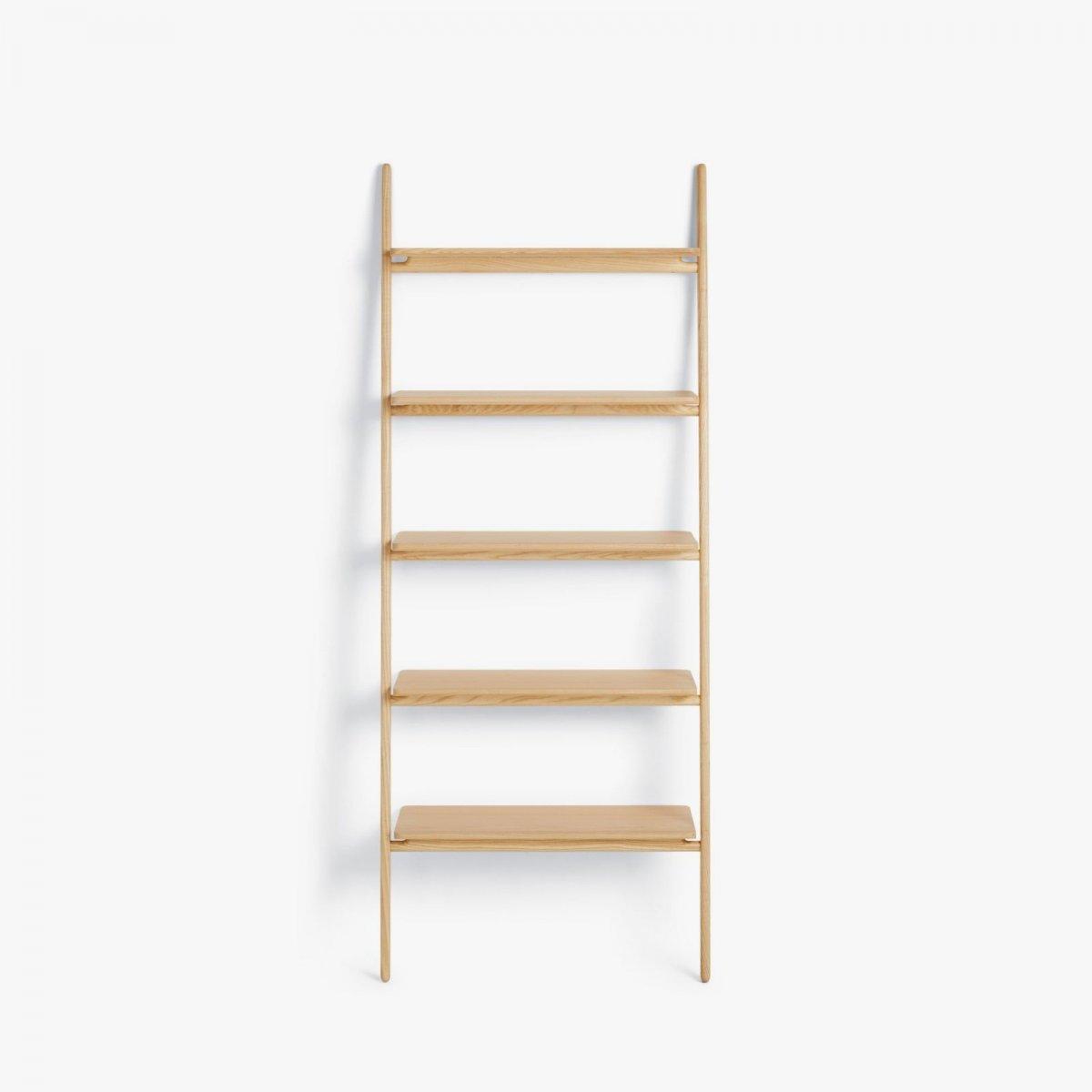 Folk Ladder Shelving, ash.