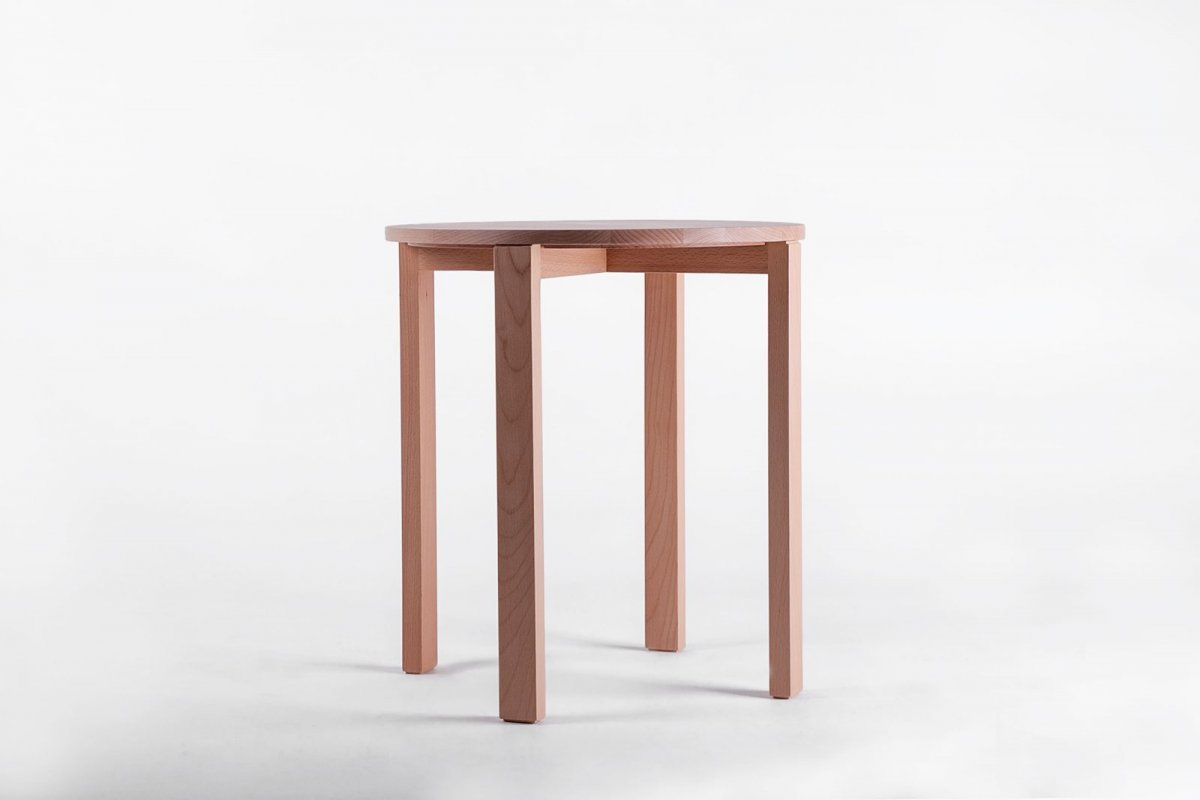 ST1 Side Table, beech.