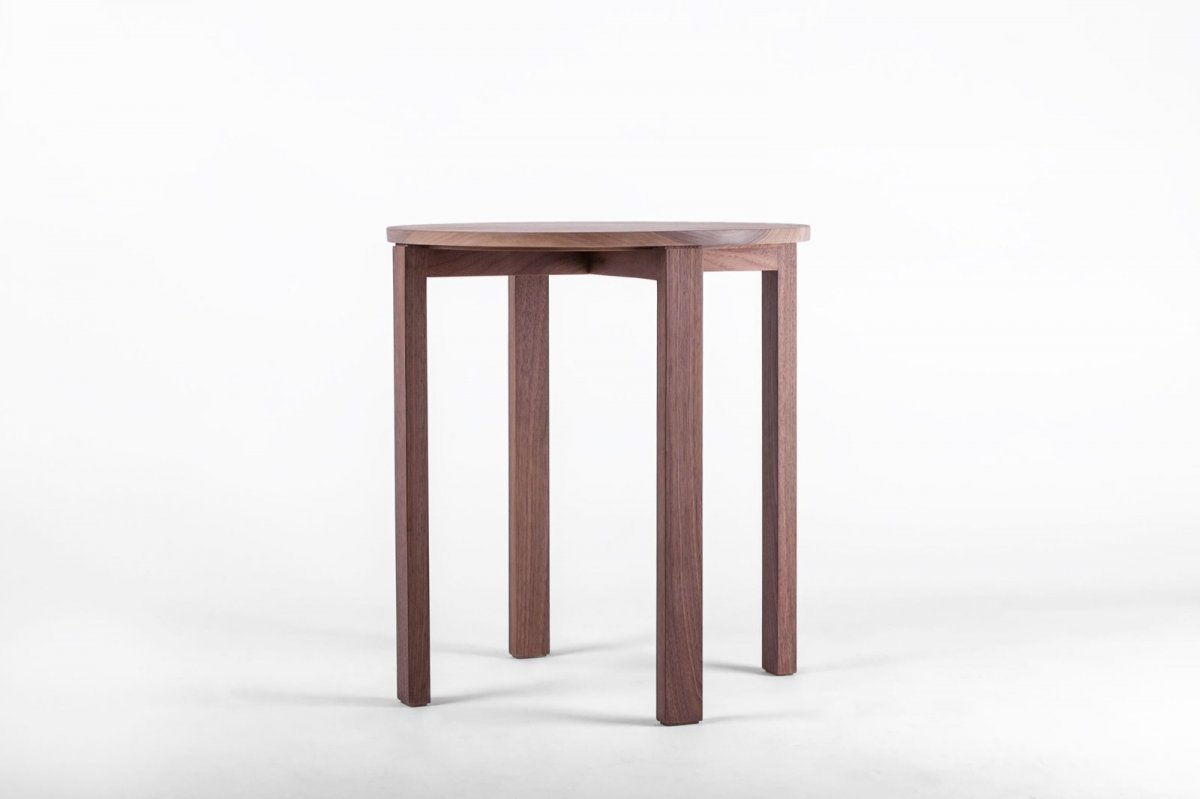 ST1 Side Table, walnut.