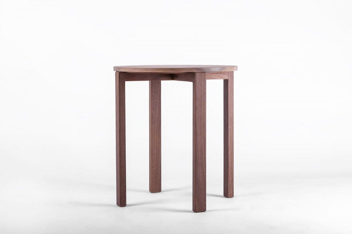 ST1 Side Table, walnut.