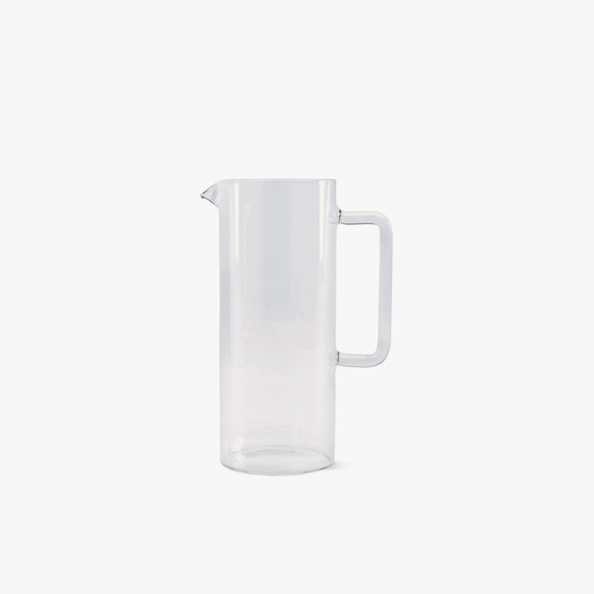 Tube Pitcher with Handle.