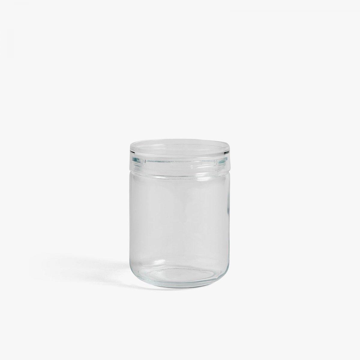 Japanese Glass Jar, L.