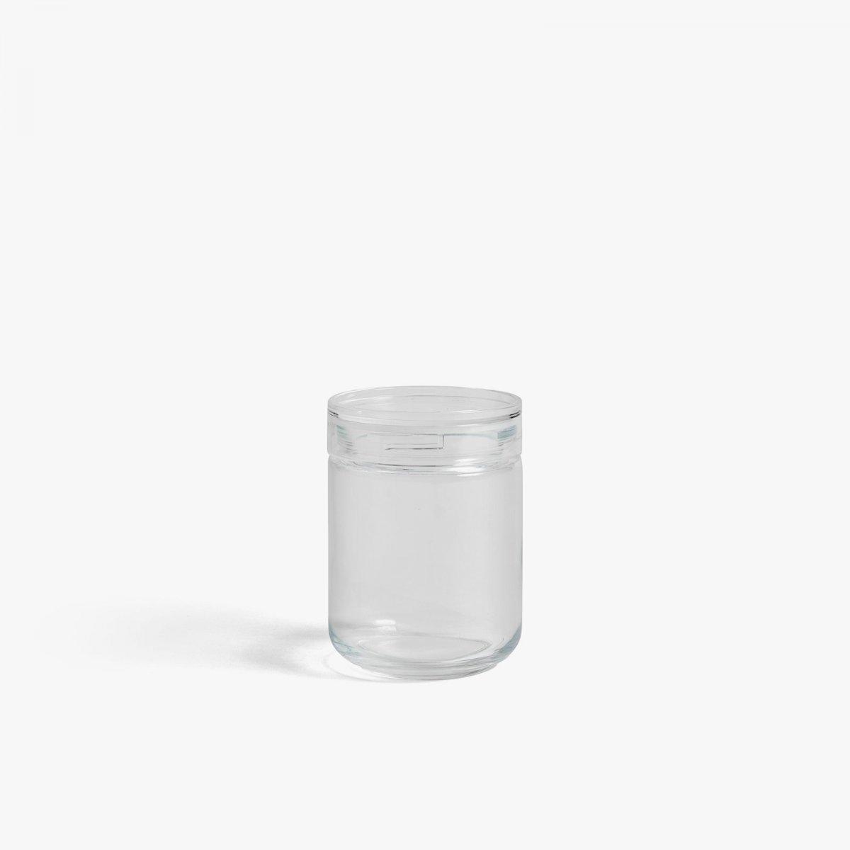 Japanese Glass Jar, M.