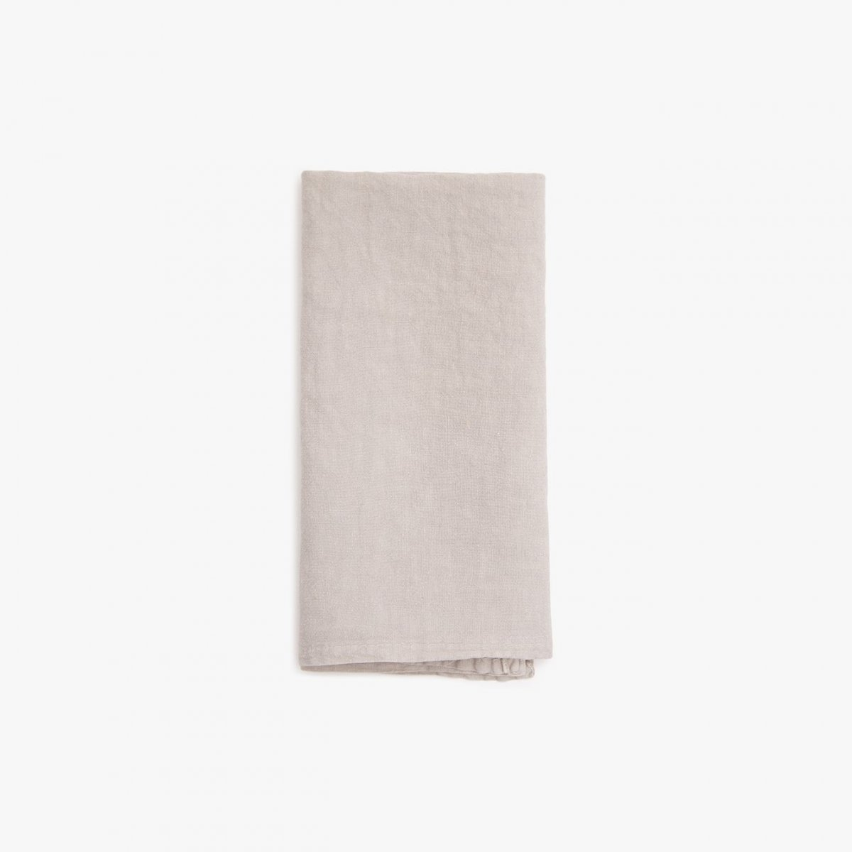 Simple Linen Napkin, light gray.