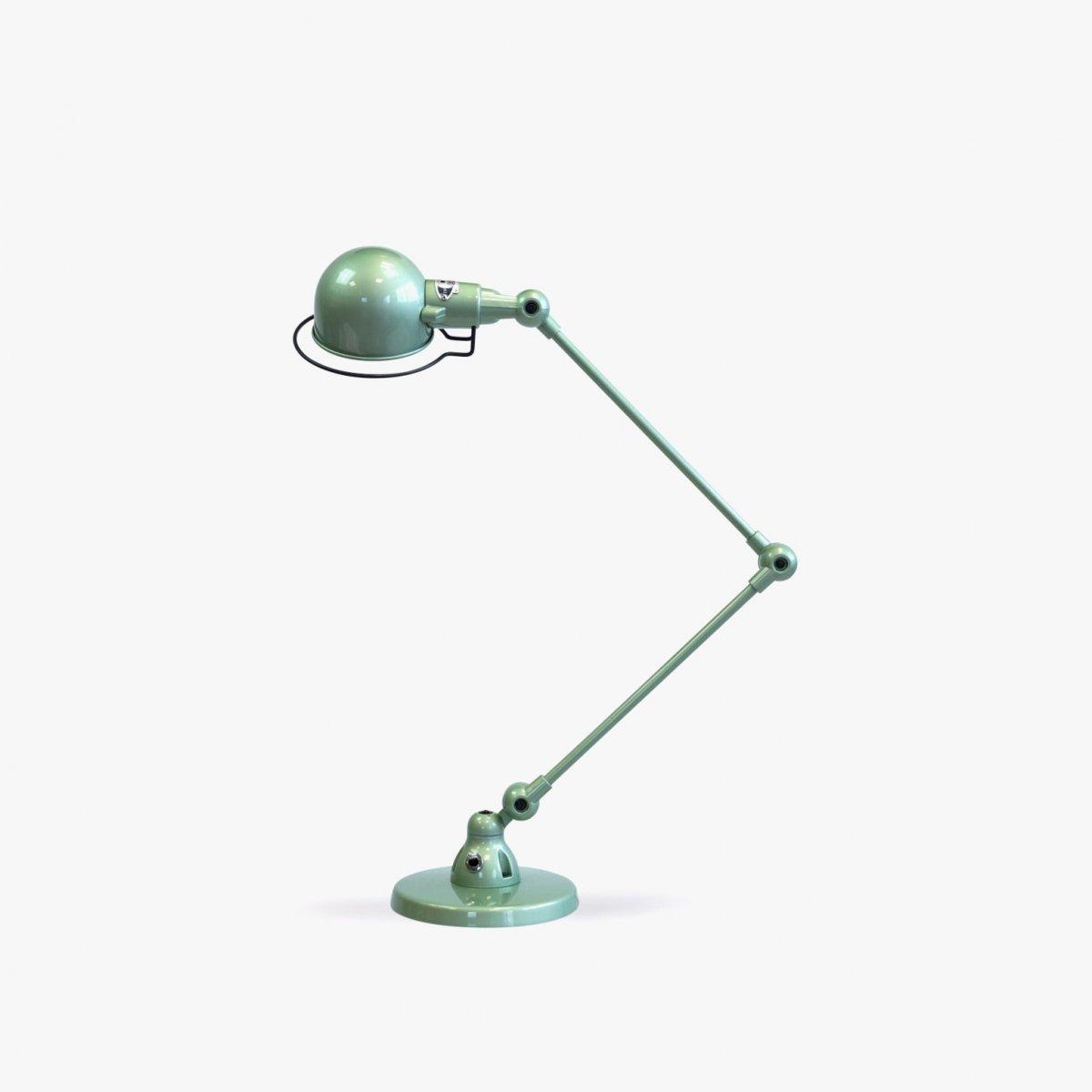 Jieldé Signal SI333 Desk Lamp, shiny vespa green.