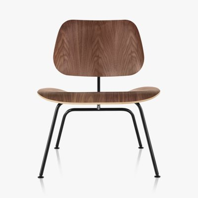 Eames Molded Plywood Lounge Chair Metal Base
