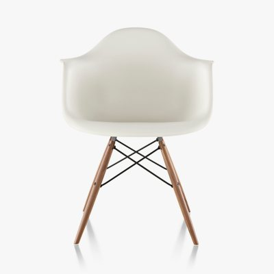 Eames Molded Plastic Armchair Dowel Base