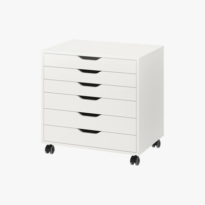 IKEA ALEX Drawer Unit On Castors