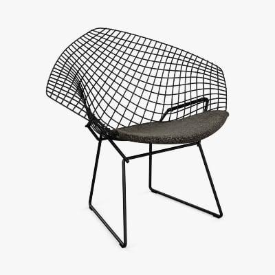 Knoll Bertoia Diamond Chair by Harry Bertoia