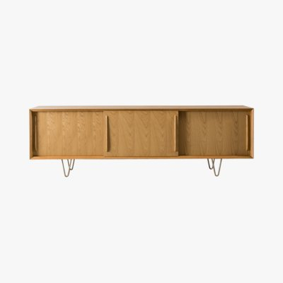 Furnified Scandinavian Sideboard, Oskar, 220cm, Oak