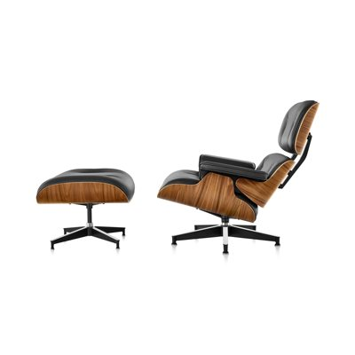 Herman Miller Eames Lounge Chair & Ottoman by Charles & Ray Eames