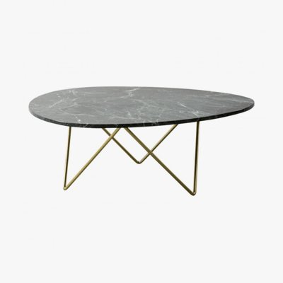 Furnified Marble Coffee Table, Richard